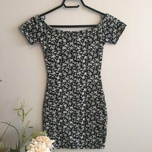 (4 for $25) Garage Floral Print Dress